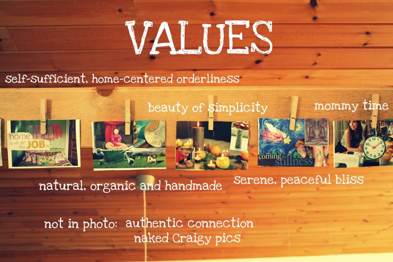 Collage values